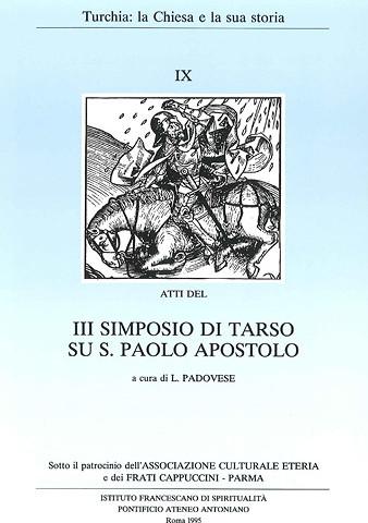 Simposio IX – Simposio di Tarso 1995