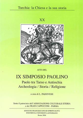 Simposio XX – Simposio Paolino 2006